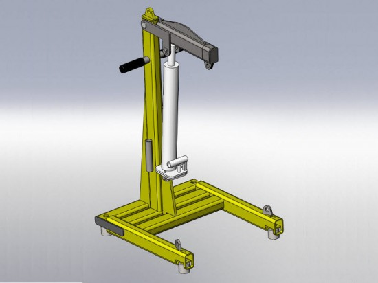 Retrofit Hydraulic Lift