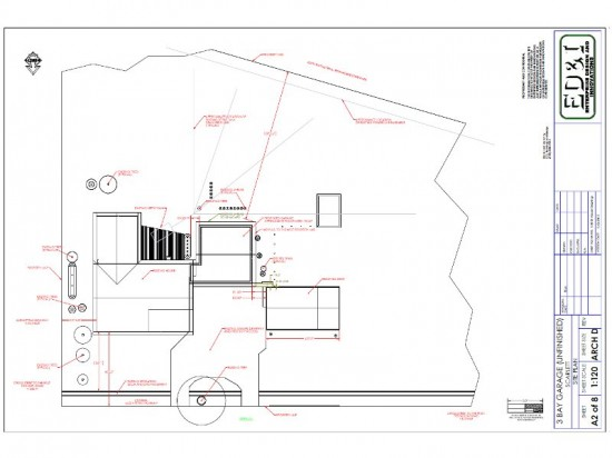 Garage Drawing, Site Plan