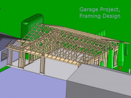 Architectural Model – Garage Addtion Project
