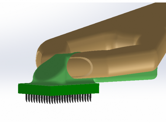 Velcro Cleaning Brush