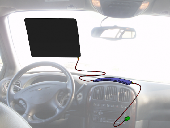 Ready Windshield Defroster