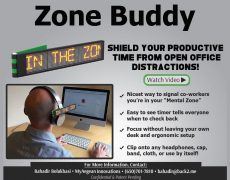 Client Project – Available for Licensing – The Zone Buddy